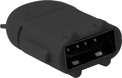 USB - Mikro USB csatlakozó átalakító, OTG funkcióval, fekete LogiLink AA0062