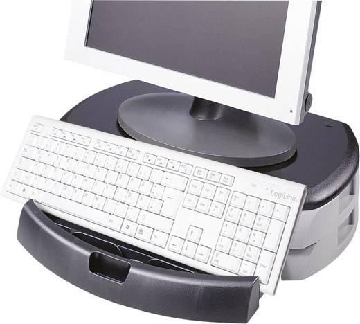 Asztali monitortartó, fiókos tárolóval LogiLink Starr BA0001