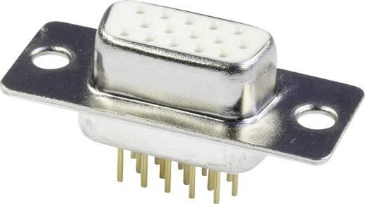 D-SUB hüvelyes kapocsléc 180 °, pólusszám: 15 forrcsúcs, econ connect BU15HDP