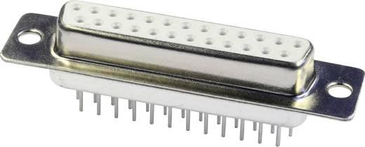 D-SUB hüvelyes kapocsléc 180 °, pólusszám: 25 forrcsúcs, econ connect BU25PV