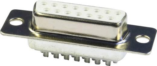 D-SUB hüvelyes kapocsléc 180 °, pólusszám: 15 econ connect BU15LK/V