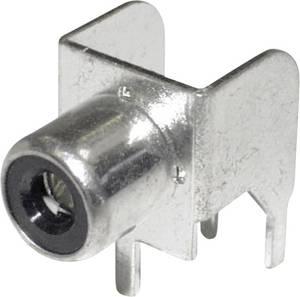 RCA csatlakozó alj, beépíthető, vízszintes, fehér econ connect CBP econ connect