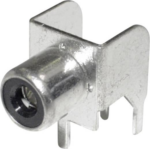 RCA csatlakozó alj, beépíthető, vízszintes, fehér econ connect CBP