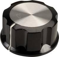 SCI RN-99C(6.4mm) Forgatógomb Fekete, Fehér (Ø x Ma) 33 mm x 16 mm 1 db SCI