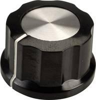 SCI RN-99D(6.4mm) Forgatógomb Fekete, Fehér (Ø x Ma) 26.8 mm x 15.8 mm 1 db SCI