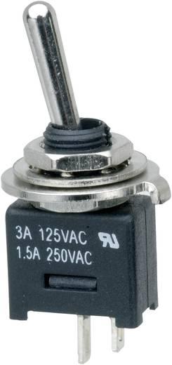 Karos billenőkapcsoló 250 V/AC 3 A 1 x KI/BE, reteszelő, SCI MTE101A1