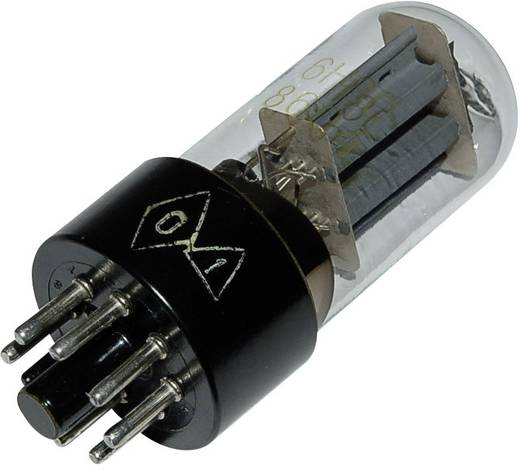 Elektroncső 6 SN 7 GT, pólusszám 8, oktál foglalat, NF kettős trióda