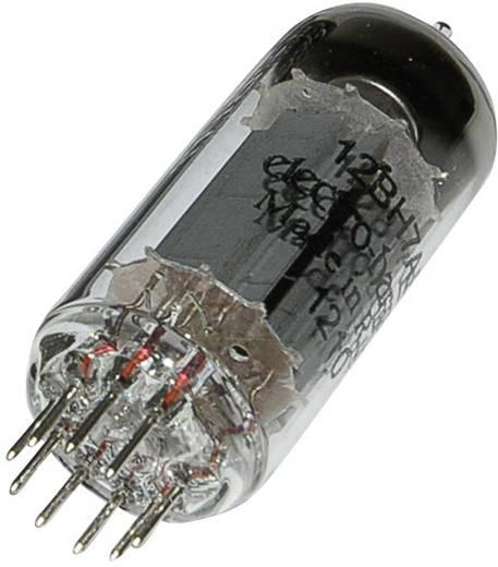 Elektroncső 12 BH 7 A, pólusszám 9, novál foglalat, NF kettős trióda