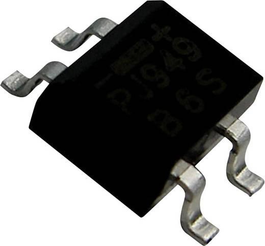 Híd egyenirányító PanJit TB4S-12 Ház típus MICRO DIP/TDI Névleges áram 1.2 A U RRM (V) 400 V