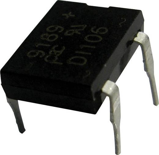 Híd egyenirányító PanJit DI100 Ház típus DIP Névleges áram 1 A U RRM (V) 50 V
