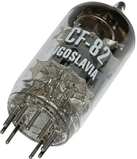 Elektroncső ECF 82 = 6 U 8, pólusszám 9, novál foglalat, Trióda - pentóda