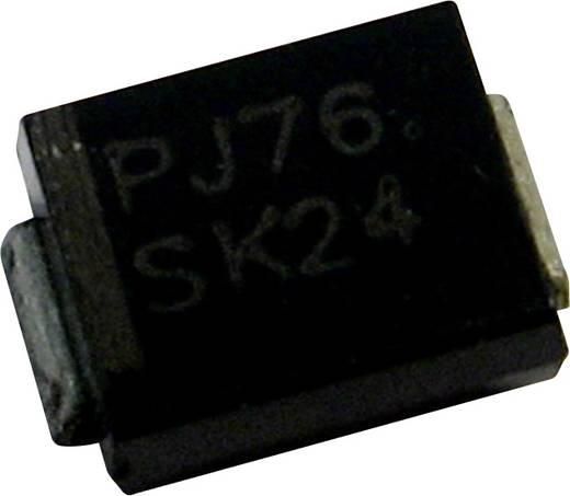 Schottky dióda PanJit BR38 Ház típus SMB/DO-214AA I(F) 3 A Feszültség 80 V