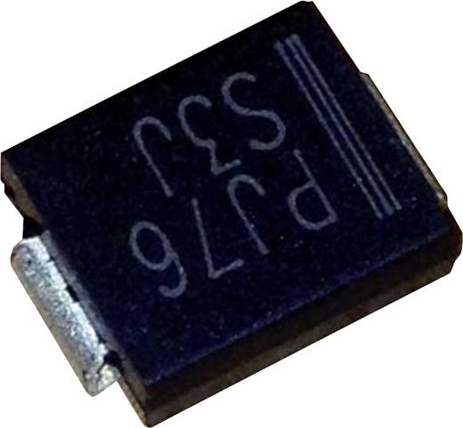 Schottky dióda PanJit SK56 Ház típus SMC/DO-214AB I(F) 5 A Feszültség 60 V