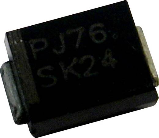Schottky dióda PanJit S210L Ház típus SMB/DO-214AA I(F) 2 A Feszültség 100 V