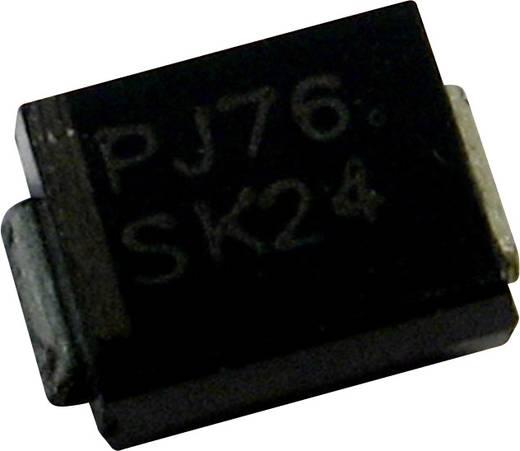 Schottky dióda PanJit SK54BL Ház típus SMB/DO-214AA I(F) 5 A Feszültség 40 V