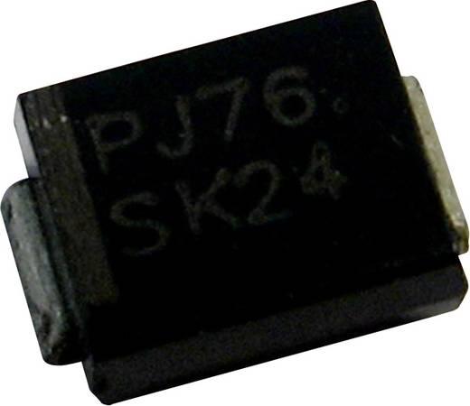 Z-dióda 1SMB2EZ22 Ház típus (félvezető) DO-214AA PanJit Zener feszültség 22 V Max. teljesítmény 2 W