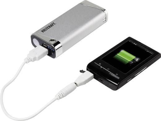 Powerbank, mobil akku, USB-s öngyújtóval és UV lámpával, LiIon 5200 mAh VOLTCRAFT PB-12
