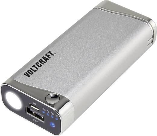 Powerbank, mobil akku, USB-s öngyújtóval és UV lámpával, Li-ion 5200 mAh VOLTCRAFT PB-12