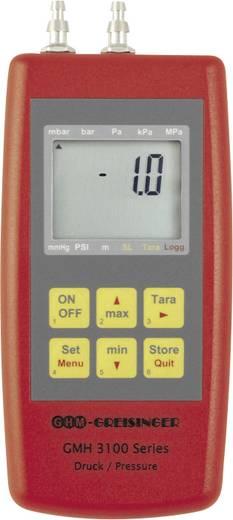 Kézi digitális levegőnyomás mérő, -0.005 - +0.005 bar, Greisinger GMH 3161-002