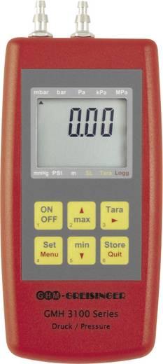 Kézi digitális levegőnyomás mérő, -0,001...0,07 bar, Greisinger GMH 3161-07H