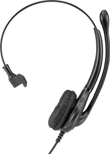 Telefon headset QD (Quick Disconnect) vezetékes, Basetech KJ-101M
