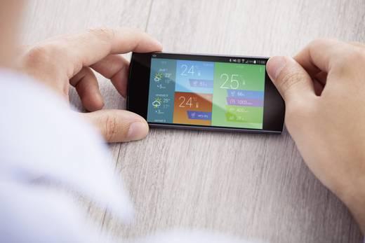 Időjárásjelző állomás Apple iphone/ipad/ipod és androidos készülékhez, Archos