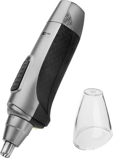 Orr- és fülszőrnyíró, fekete/antracit, Clatronic NE3595