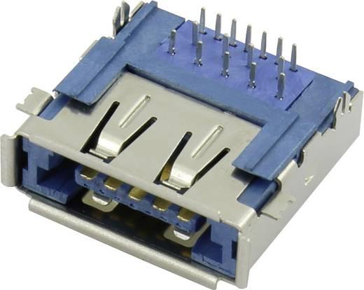 Multiport beépítő hüvely eSATAp + USB 3.0 Alj, beépíthető, vízszintes, Conrad