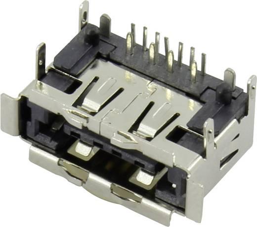 Beépíthető eSATA + USB 2.0 alj, vízszintes, Tru Components 1 db