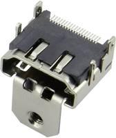 HDMI csatlakozó alj, beépíthető, vízszintes, ezüst, Attend 206B-SEAN-R03 (206B-SEAN-R03) Attend
