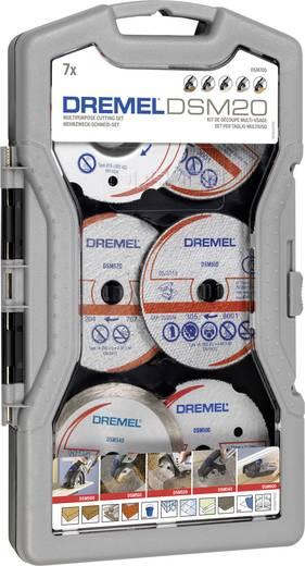 Vágótárcsa készlet 7 db, DREMEL DSM705