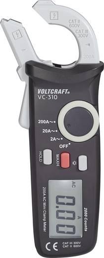 Mini AC váltóáram mérő lakatfogó AC/A max. 200A CAT II 600 V, CAT III 300 V Voltcraft VC-310 AC