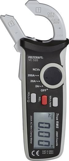 Mini lakatfogó AC váltóáram, True RMS mérő AC/A max. 200A Voltcraft VC-320 AC