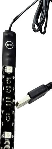 Dekorációs LED csíkok USB csatlakozóval, fekete X4-LIFE