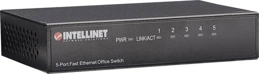 5 portos RJ45 Ethernet hálózati switch, 10 / 100 Mbit/s Intellinet 523301