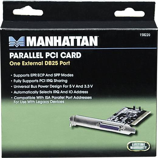1 portos PCI párhuzamos portos parallelkártya Manhattan 158220