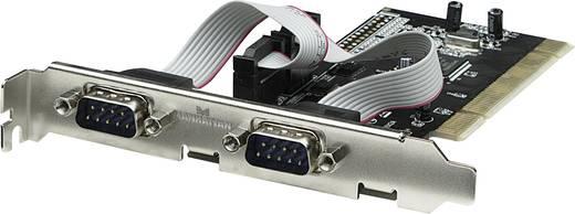 Soros portos Plug-in-PCI kártya 2 port csatlakozós Manhattan 158213