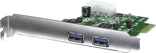 2db USB 3.0 bemenetű notebook PCI Express kártya Manhattan 151375