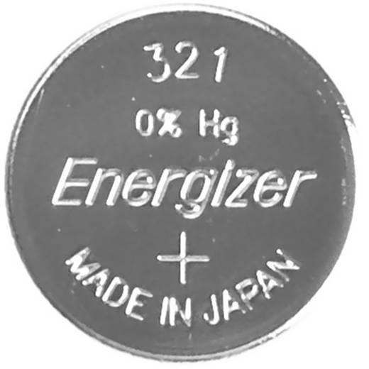 321 gombelem, ezüstoxid, 1,55V, 15 mAh, Energizer SR616SW, SR65, SR616, V321, D321, 611, DA, 280‑73, SB‑AF, SB‑DF