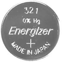 321 gombelem, ezüstoxid, 1,55V, 15 mAh, Energizer SR616SW, SR65, SR616, V321, D321, 611, DA, 280‑73, SB‑AF, SB‑DF (635710) Energizer