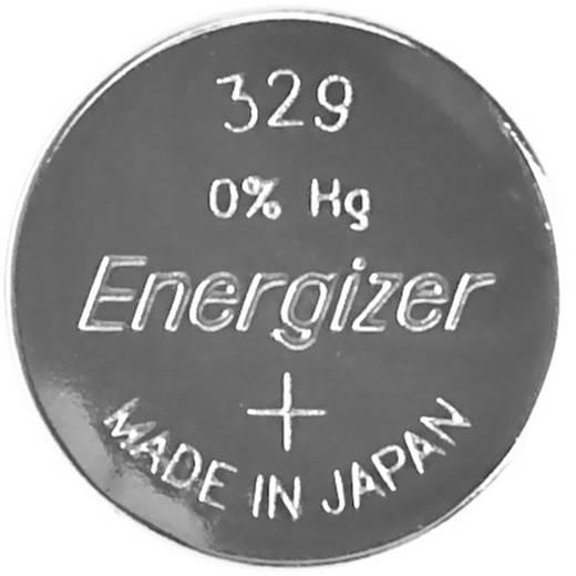 329 gombelem, ezüstoxid, 1,55V, 39 mAh, Energizer SR731SW, SR731, V329, D329, RW300, R329/24, GP29, 329A, 329X
