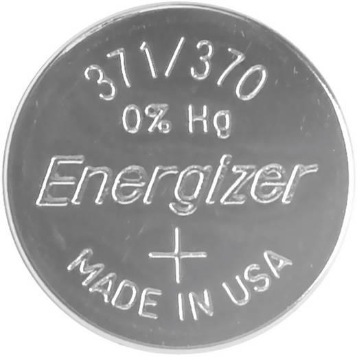 371/370 gombelem, ezüstoxid, 1,55V, 34 mAh, Energizer SR920SW, SR69, SR921, V371, D371, 605, 280-31, SB-AN, RW315