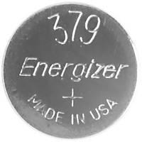379 gombelem, ezüstoxid, 1,55V, 14 mAh, Energizer SR521SW, SR63, SR521, V379, D379, 618, JA, 280‑59, SB‑AC, SB‑DC (638006) Energizer