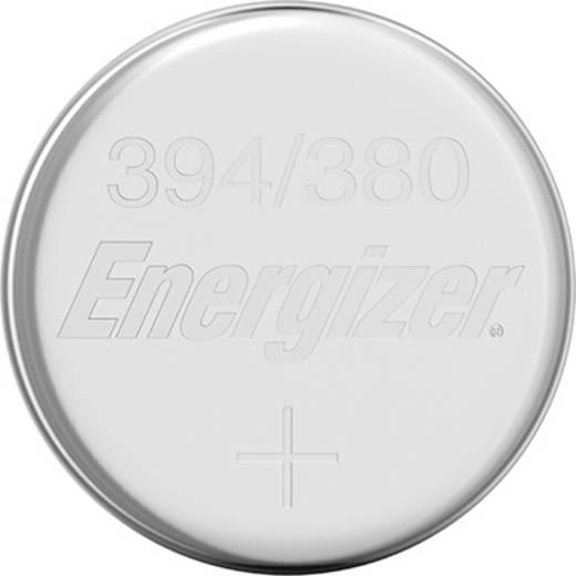 394 gombelem, ezüstoxid, 1,55V, 63 mAh, Energizer SR936SW, SR936, V394, D394, 625, 280‑17, SB‑A4, RW33, BS27, AG9