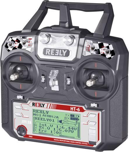 Kézi távirányító, 2,4 GHz, 6 csatorna, Reely HT-6