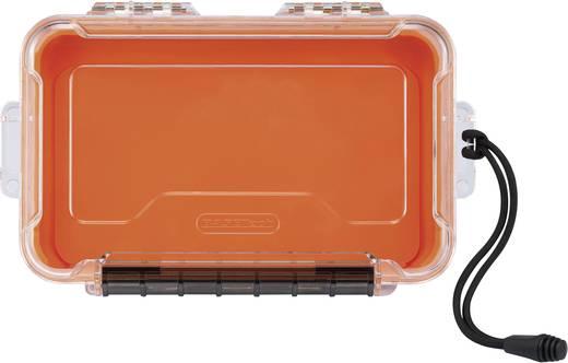 Vízálló tárolókoffer, műanyag tárolódoboz 252 x 157 x 64 mm Polikarbonát (PC), Basetech Outdoor Box Dry