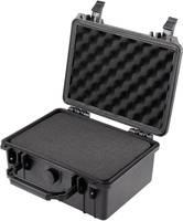 Vízálló, por és ütésálló műszerkoffer, hordtáska 240 x 195 x 112 mm, Basetech (1310218) Basetech