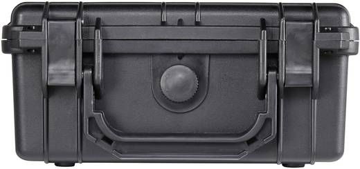 Vízálló, por és ütésálló műszerkoffer, hordtáska 240 x 195 x 112 mm, Basetech