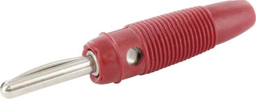 Banándugó, 4mm-es lamellás, piros színű econ connect LAS4RTE
