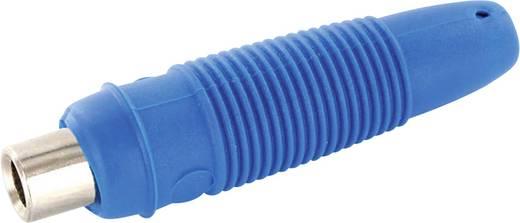 Banáncsatlakozó lengő alj, 4mm-es kék színű econ connect LK4BLE